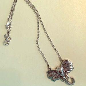 Lucky Brand Ganesha Pendant Necklace